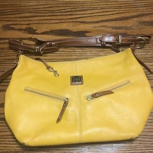 Yellow Leather Dooney & Burke